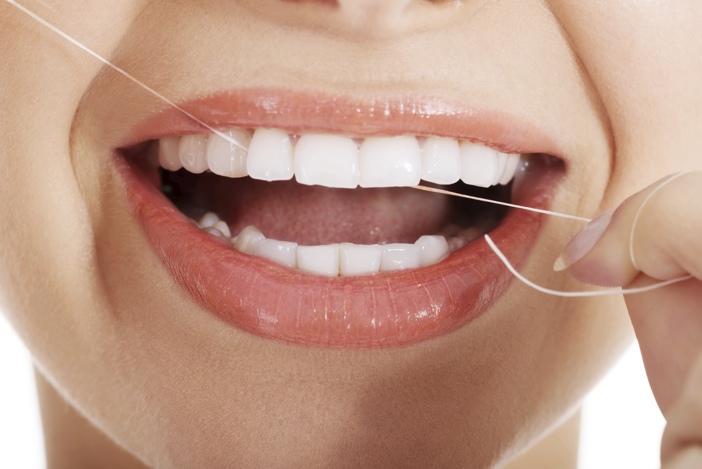 dental floss and oral health